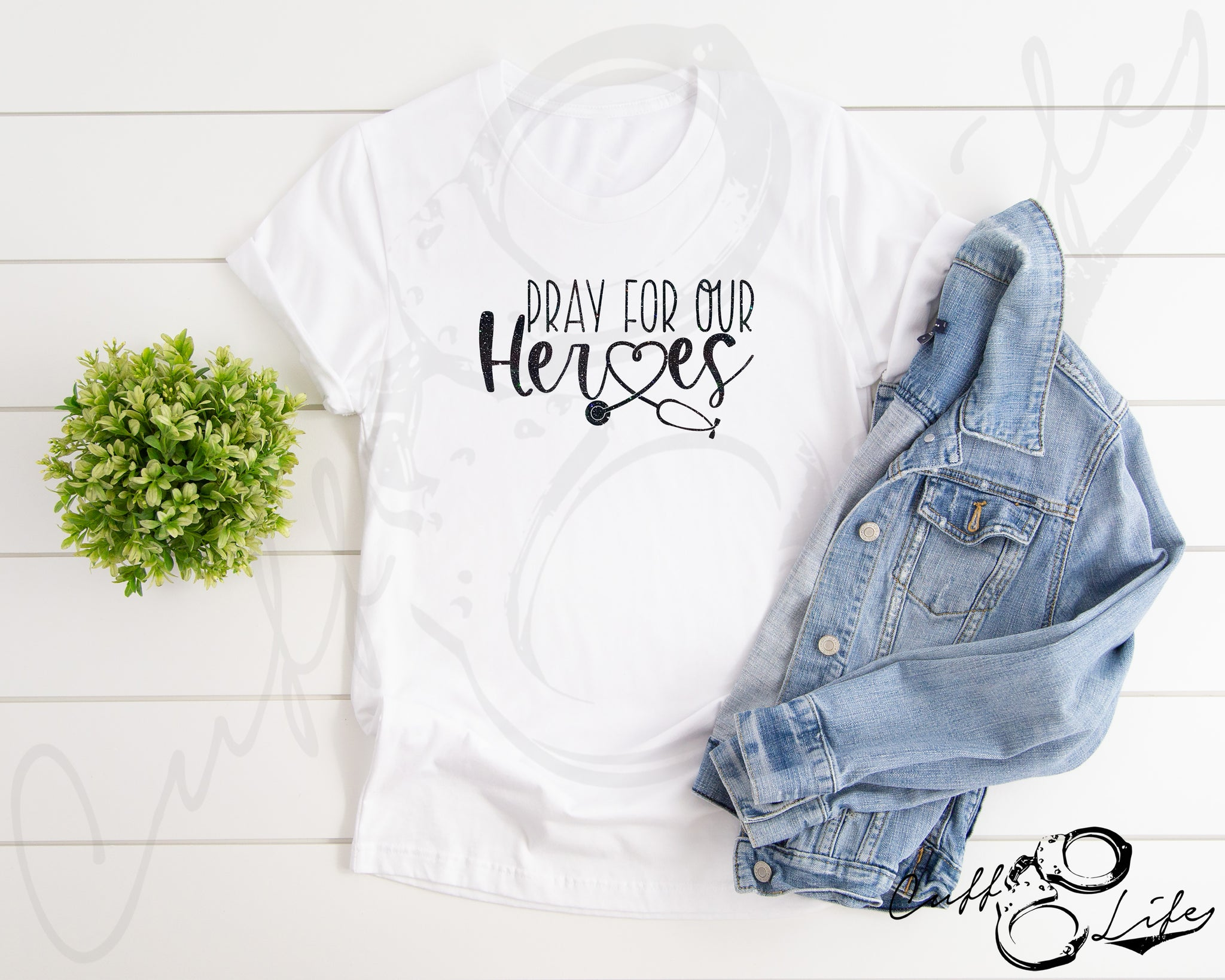 Pray For Our Heroes NURSE © - Unisex T-Shirt
