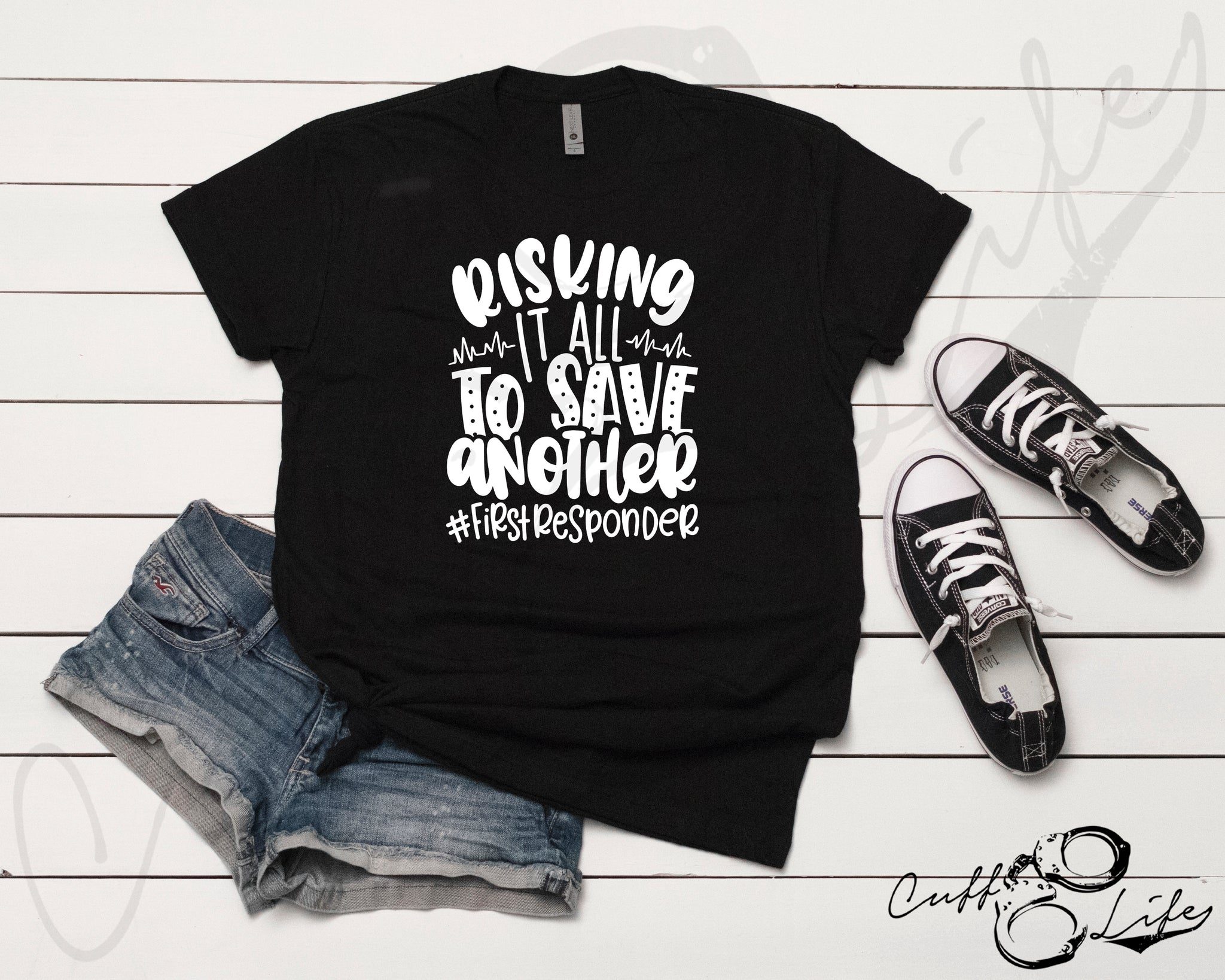 Risking It All To Save Another - Unisex T-Shirt
