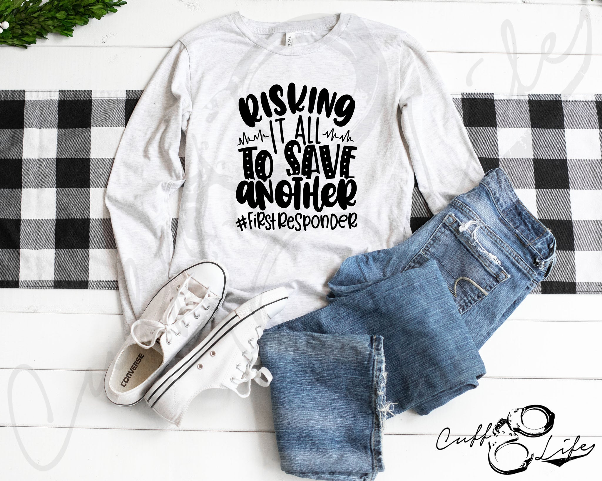 Risking It All To Save Another - Long Sleeve Tee