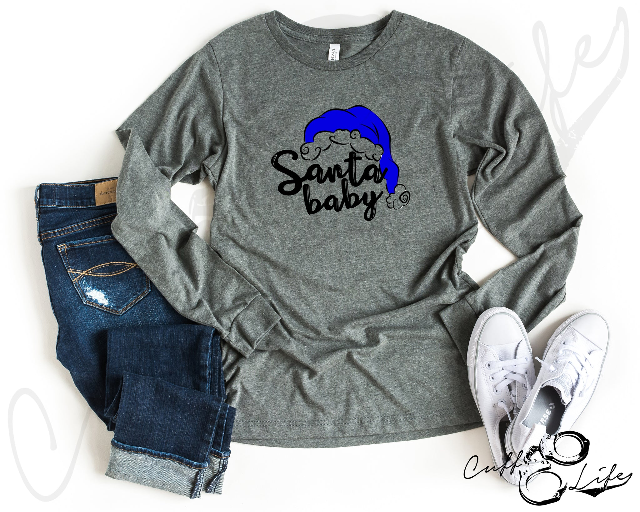 Santa Baby TBL - Long Sleeve Tee