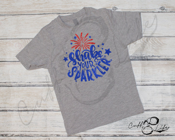 Shake Your Sparkler - Toddler/Youth T-Shirt
