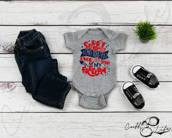 Sorry, I Can't Hear You - Infant Bodysuit