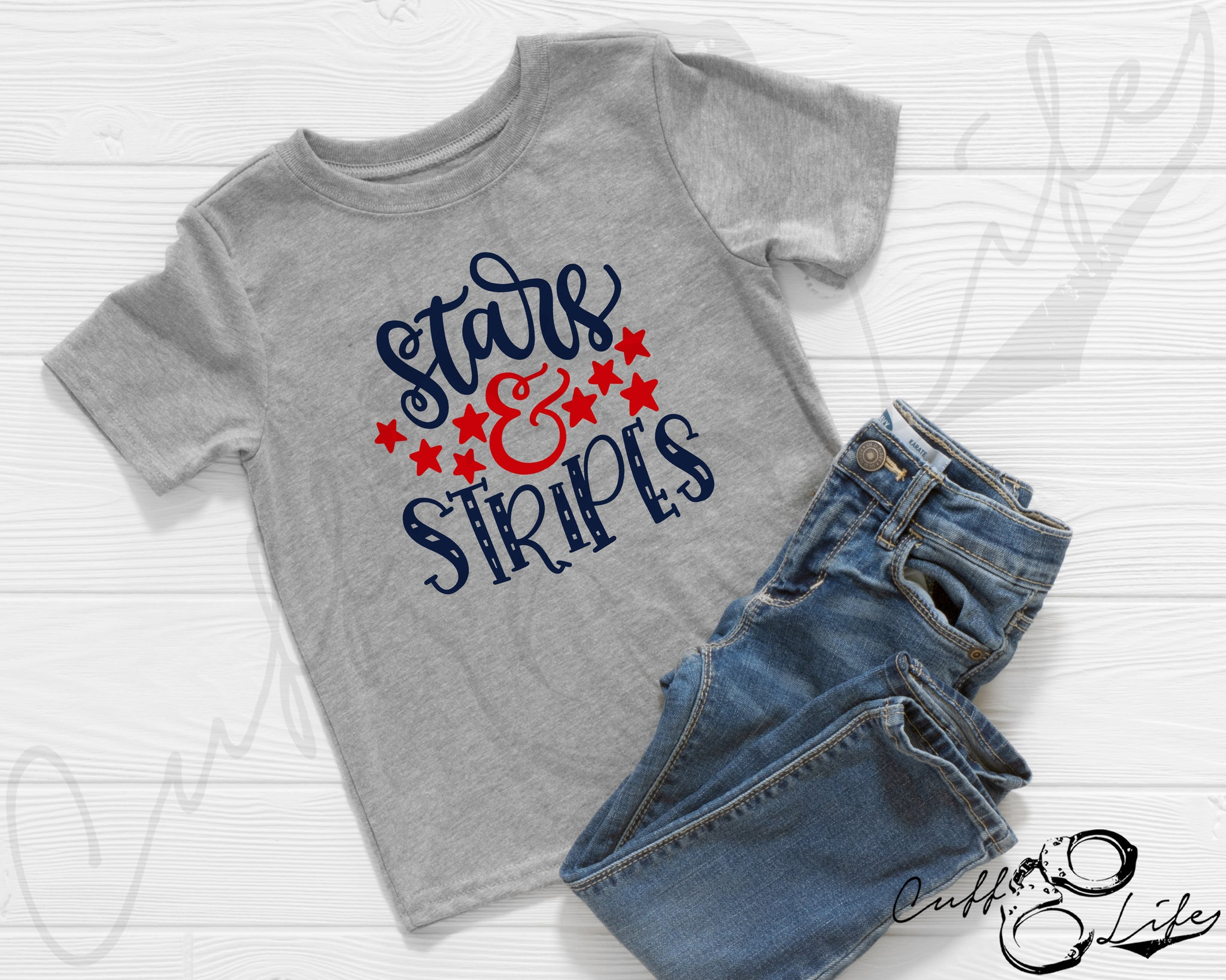 Stars & Stripes - Toddler/Youth T-Shirt