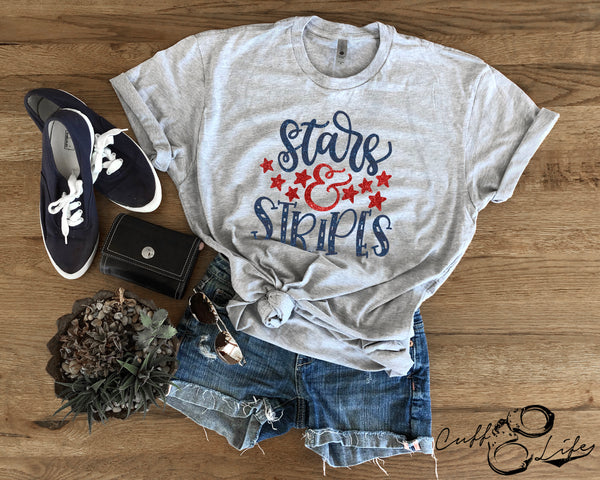 Stars & Stripes - Unisex T-Shirt