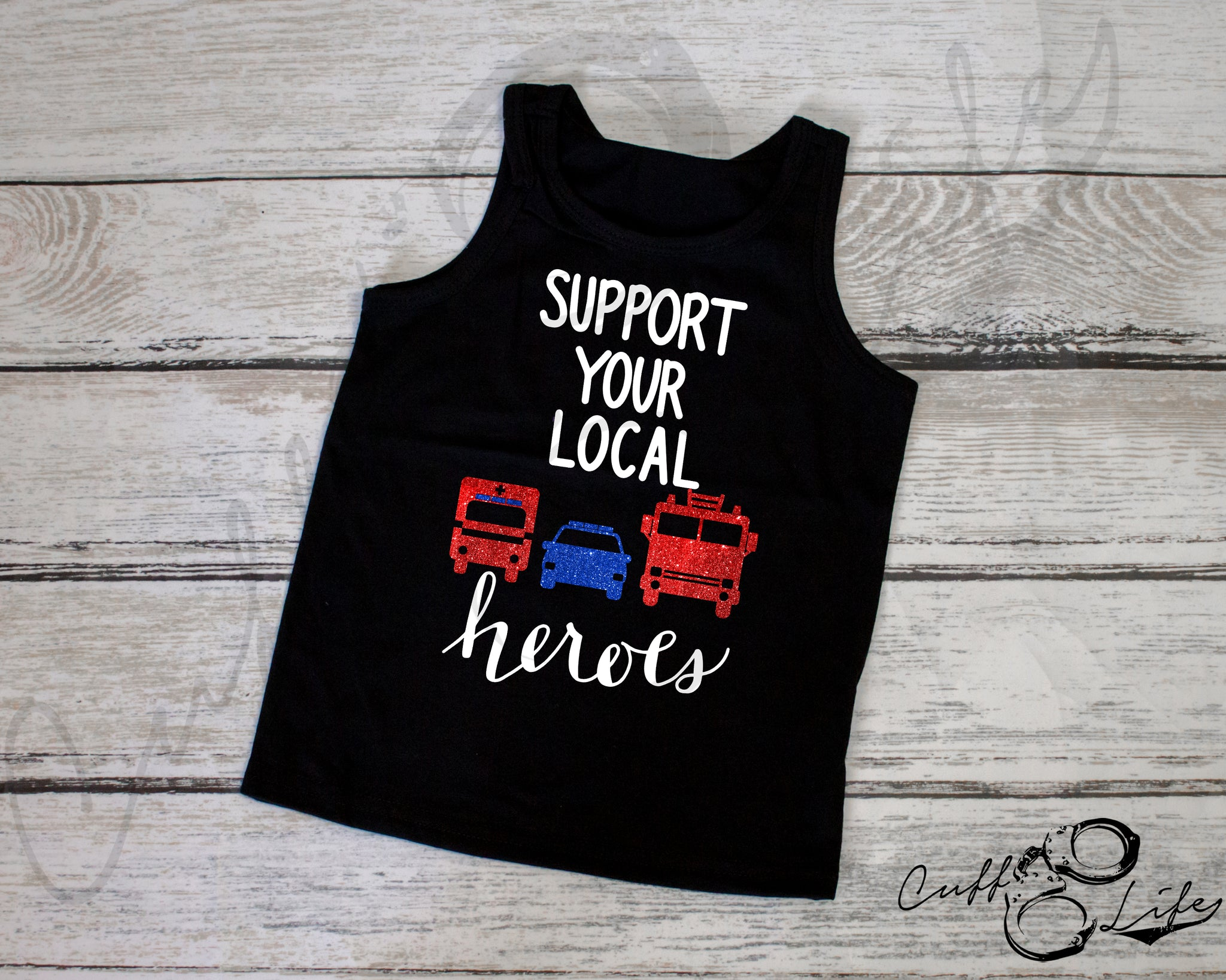 Support Your Local Heroes - Tank Top