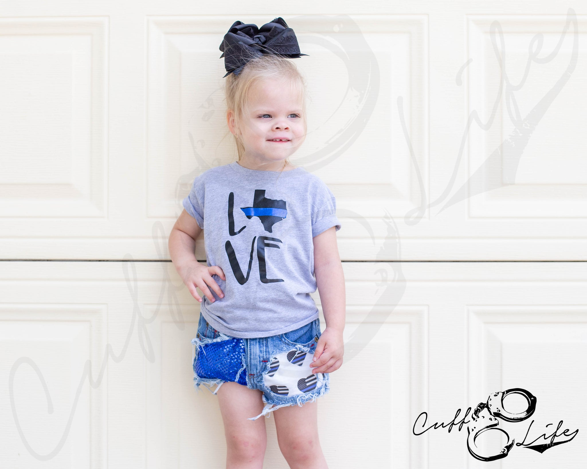 State Love - Thin Blue Line - Toddler/Youth T-Shirt