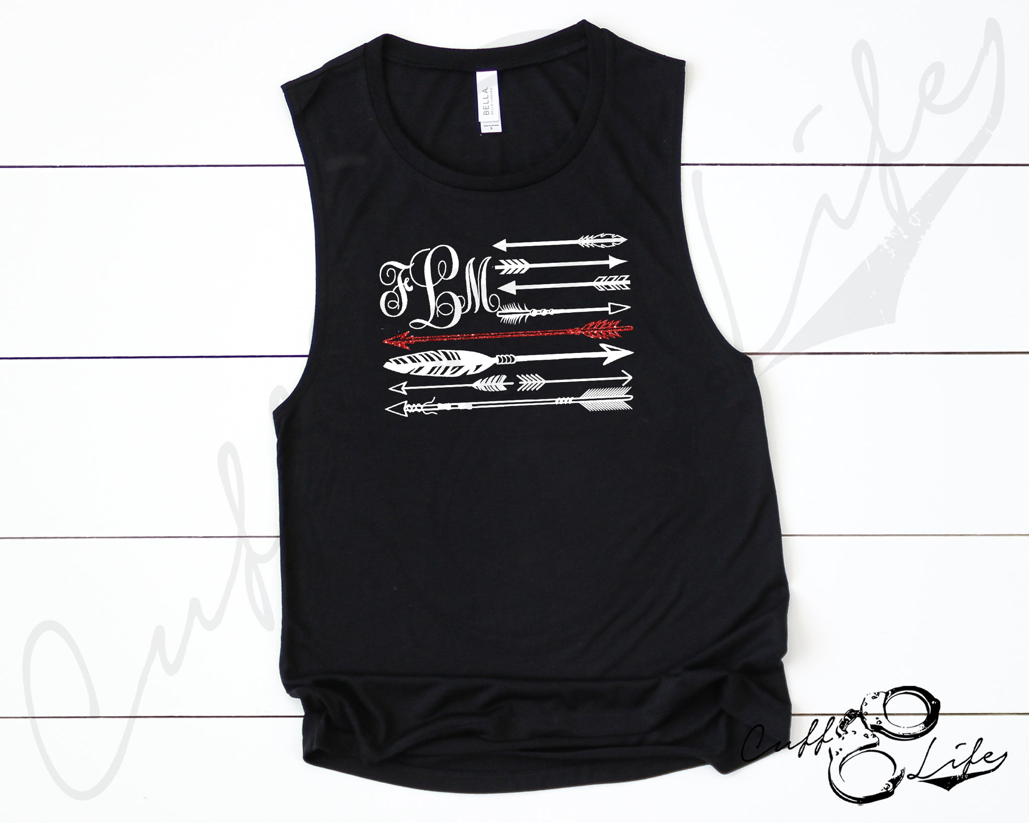 Monogram Arrow Flag - TRL © - Muscle Tank