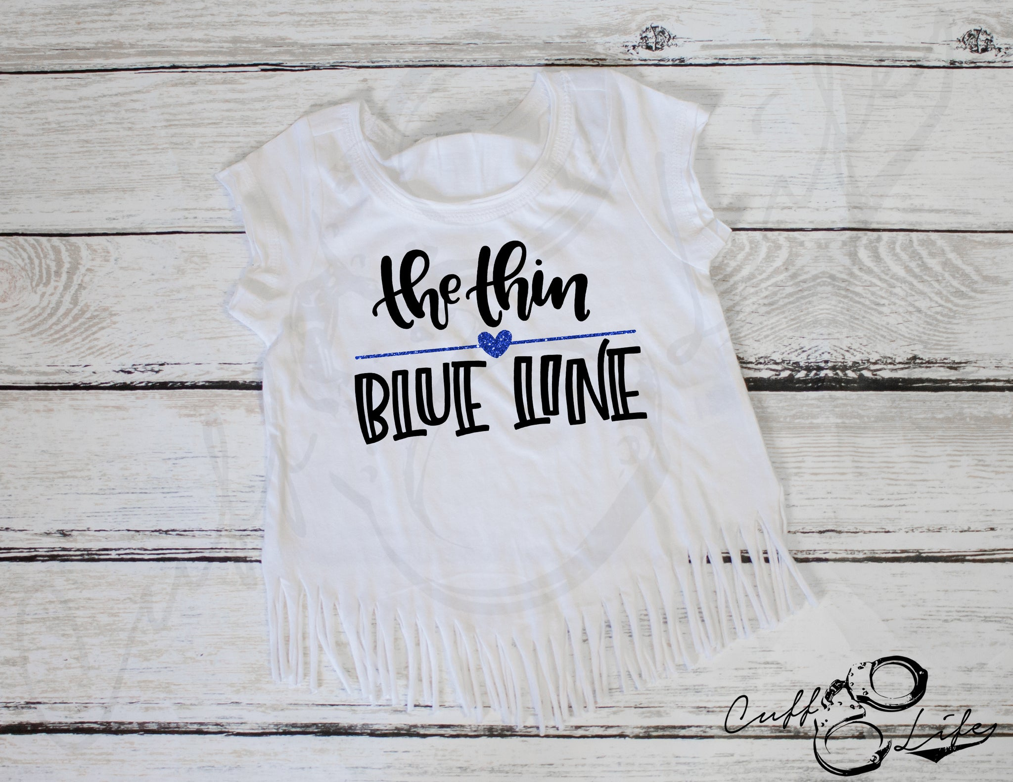 The Thin Blue Line - Fringe Tee