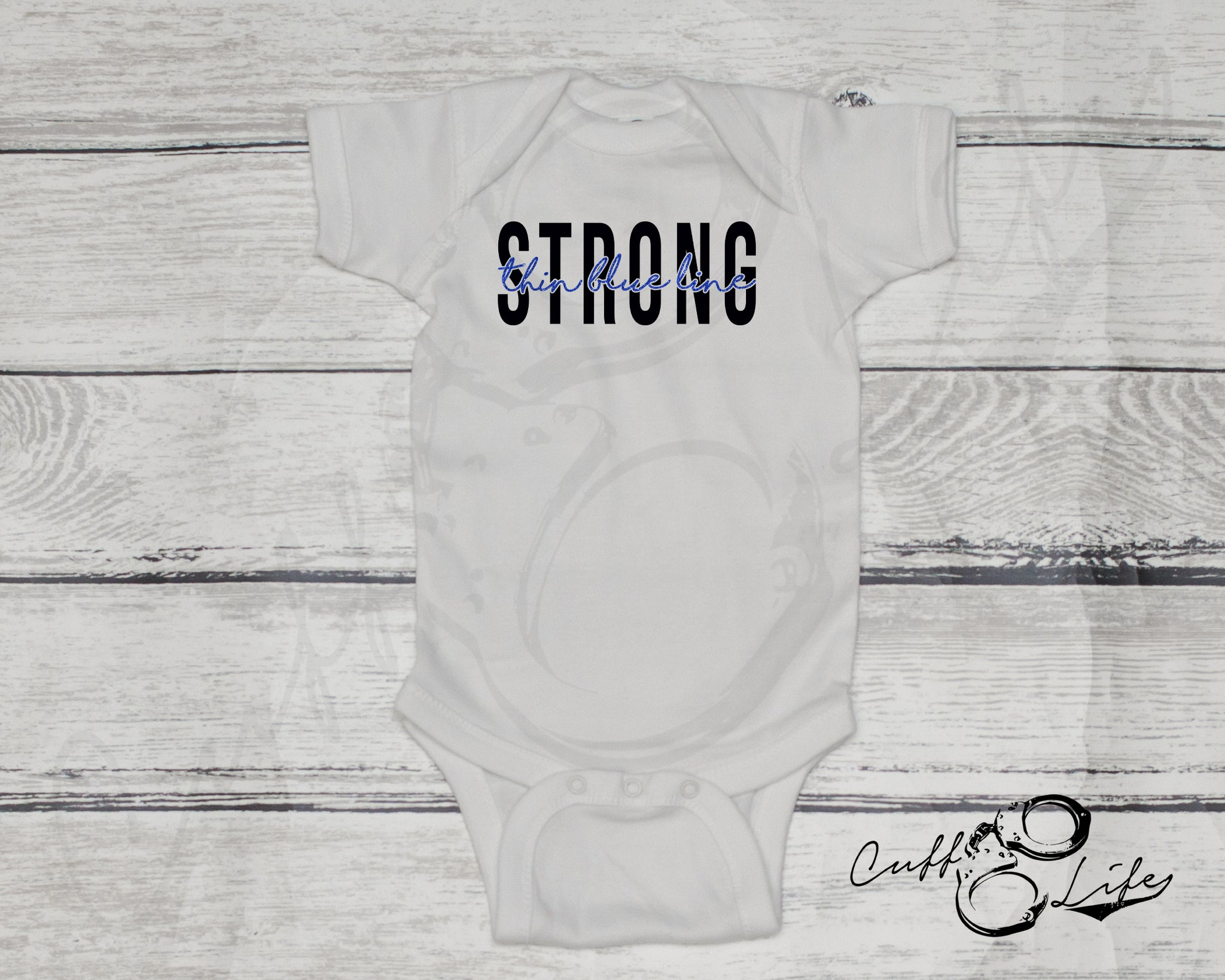 Thin Blue Line STRONG © - Infant Bodysuit