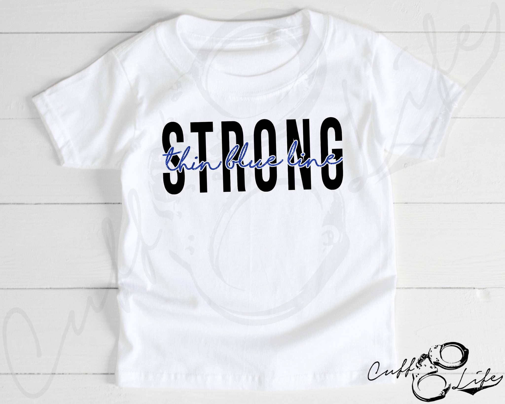 Thin Blue Line STRONG © - Toddler/Youth T-Shirt