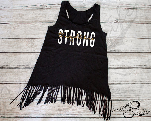 Thin Gold Line STRONG © - Fringe Tank