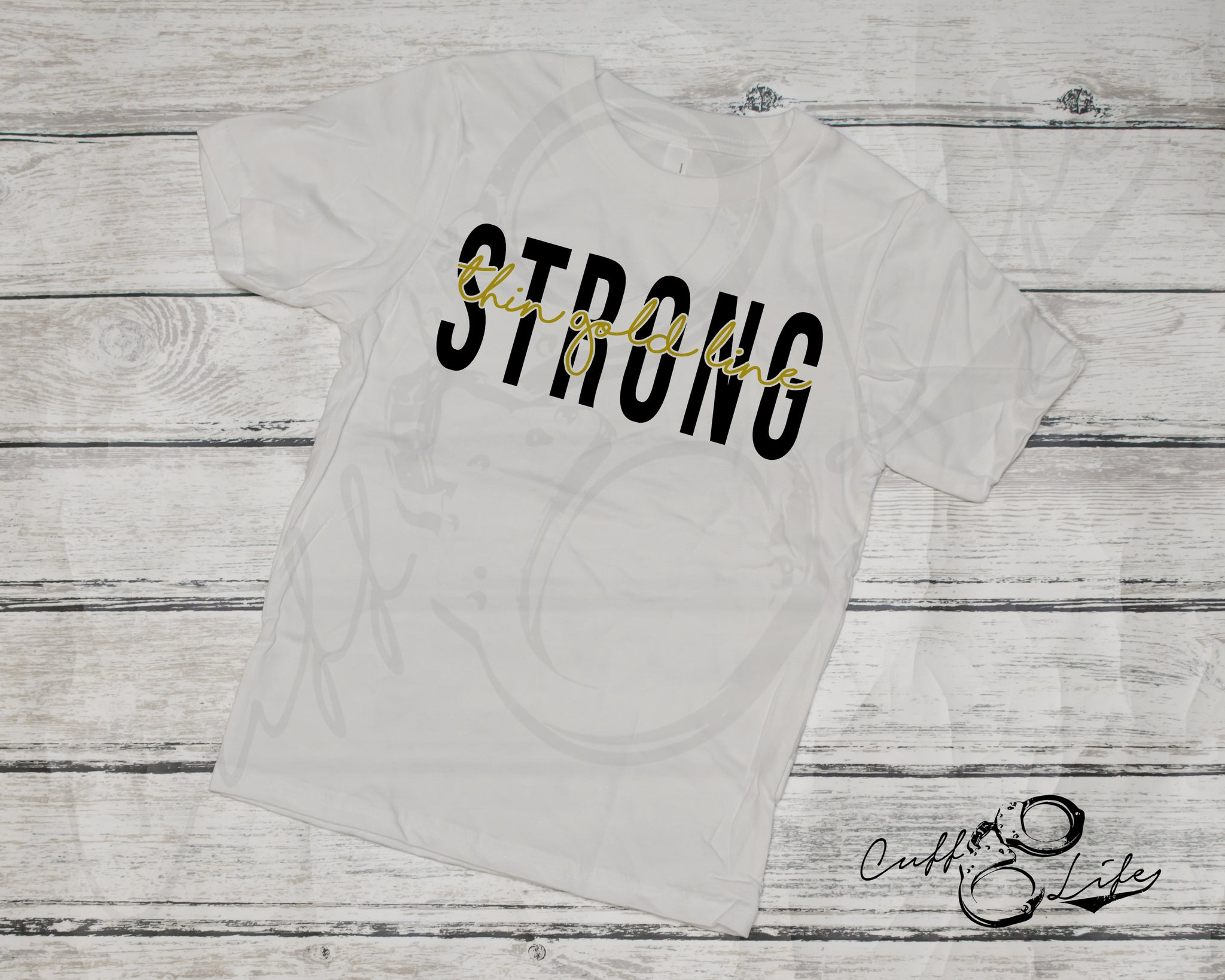 Thin Gold Line STRONG © - Toddler/Youth T-Shirt