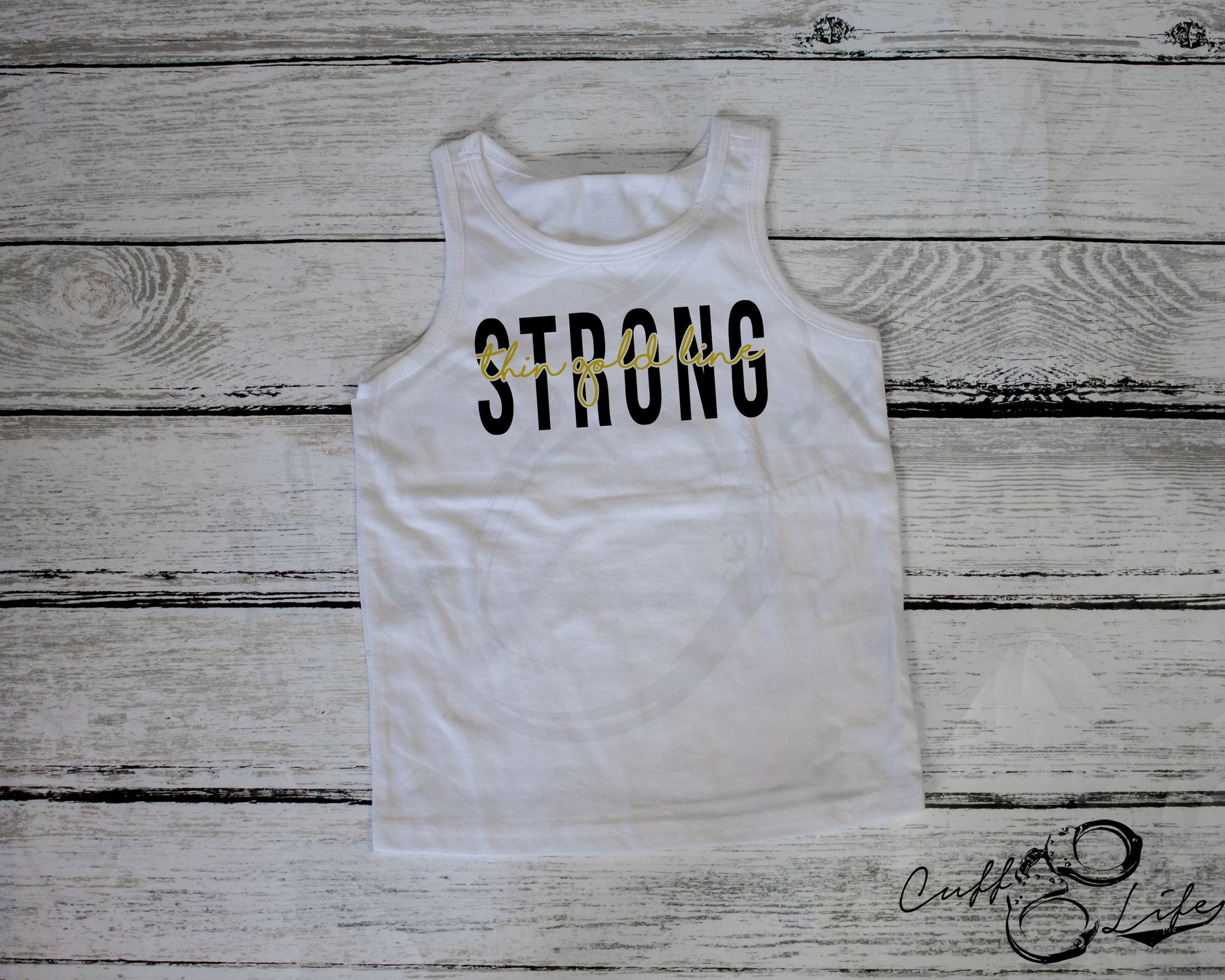 Thin Gold Line STRONG © - Tank Top