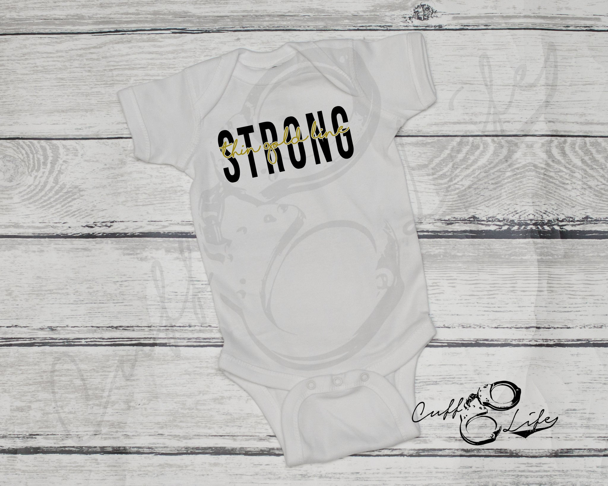 Thin Gold Line STRONG © - Infant Bodysuit