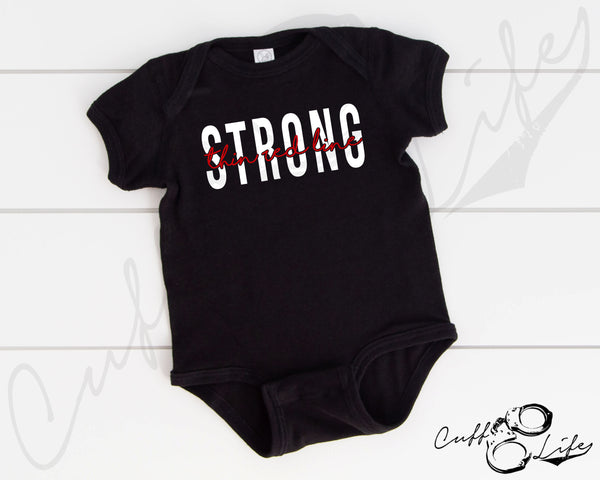 Thin Red Line STRONG - Infant Bodysuit