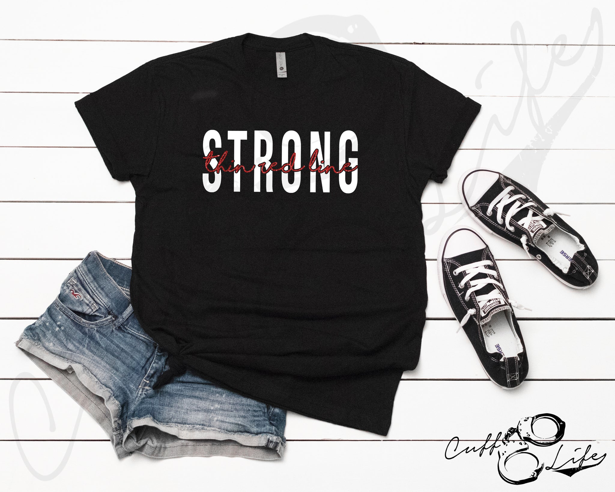 Thin Red Line STRONG © - Unisex T-Shirt