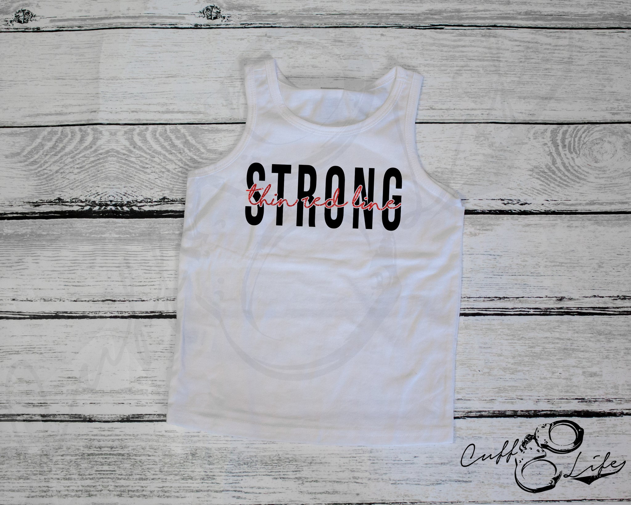Thin Red Line STRONG © - Tank Top