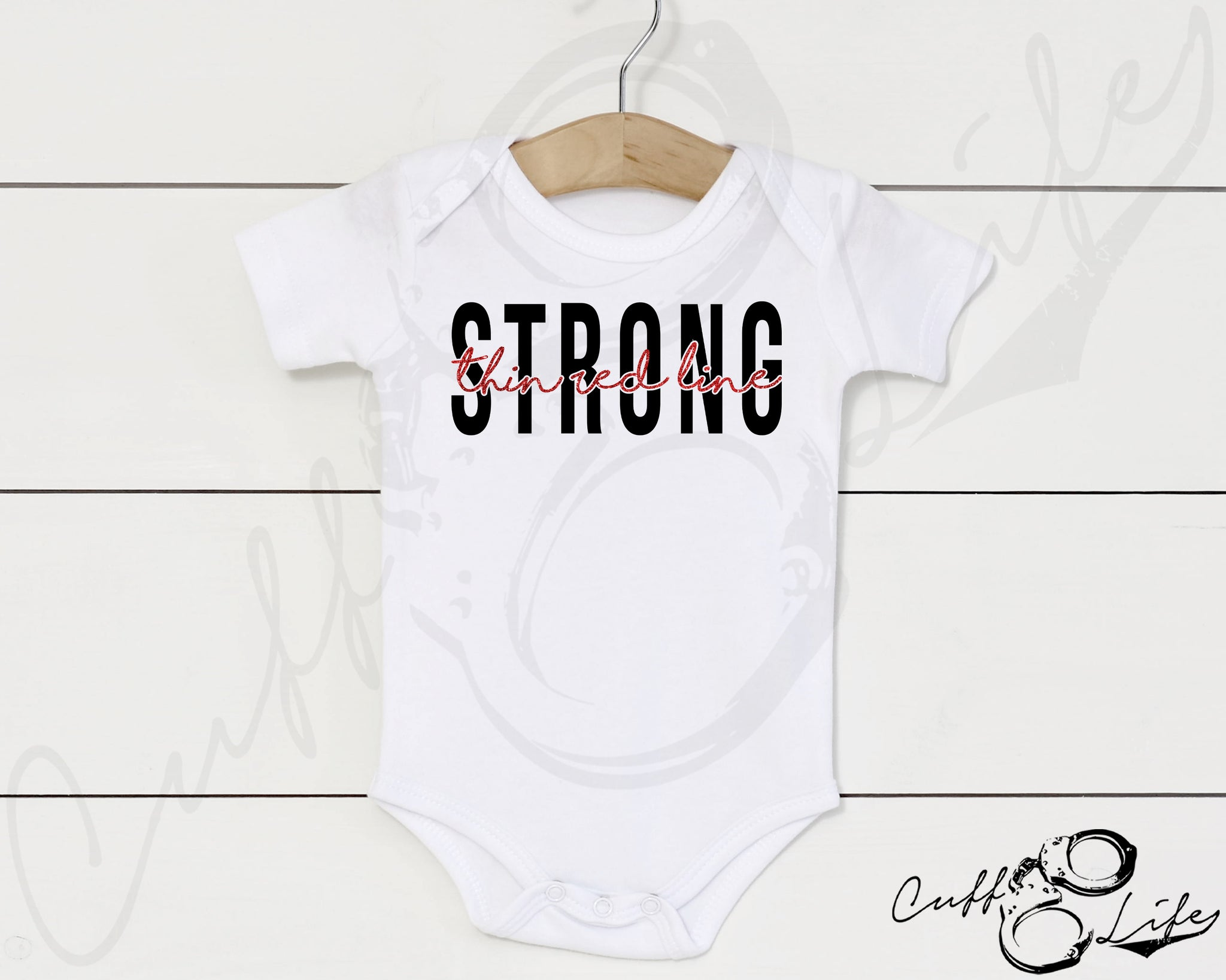 Thin Red Line STRONG © - Infant Bodysuit