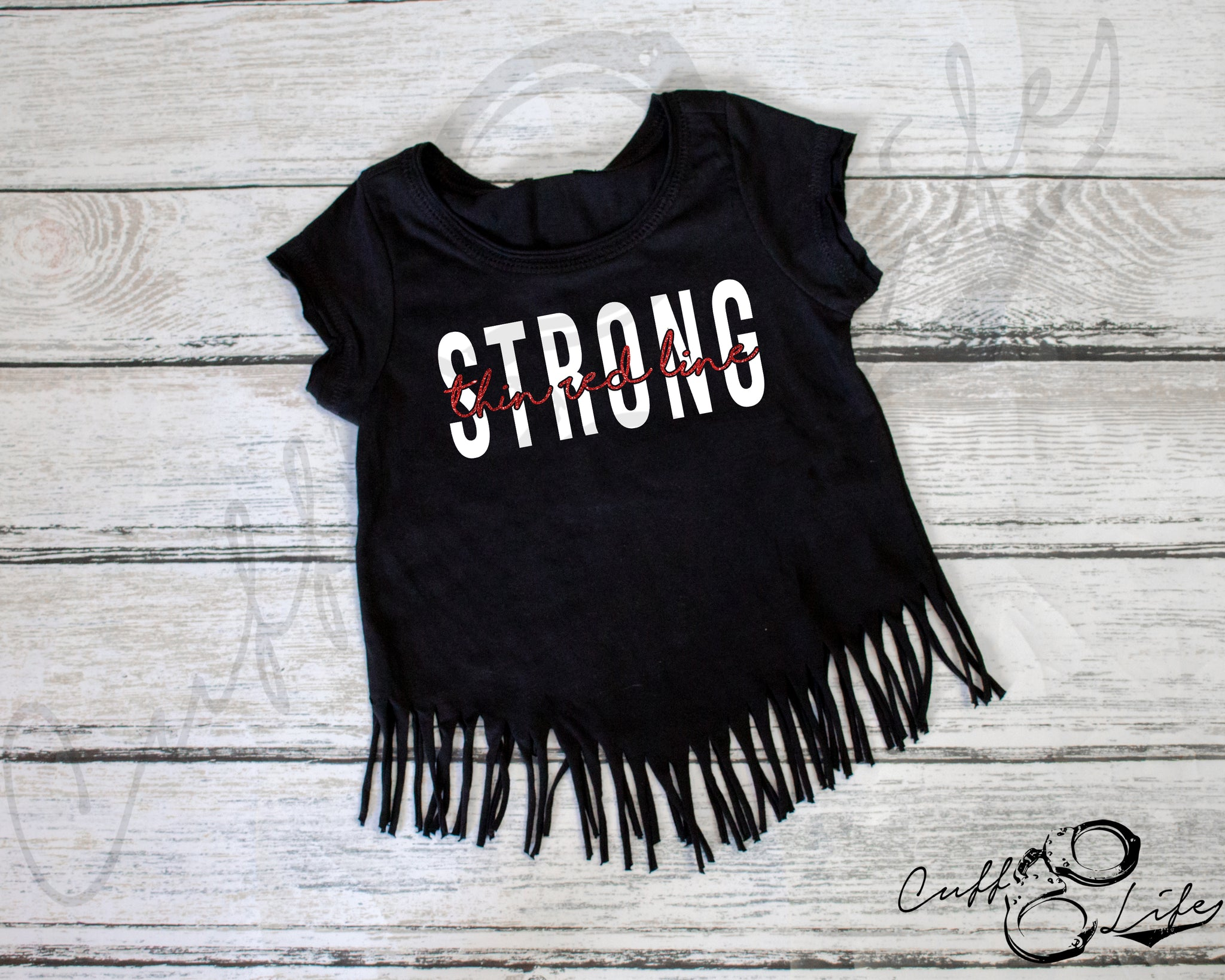 Thin Red Line STRONG © - Fringe Tee