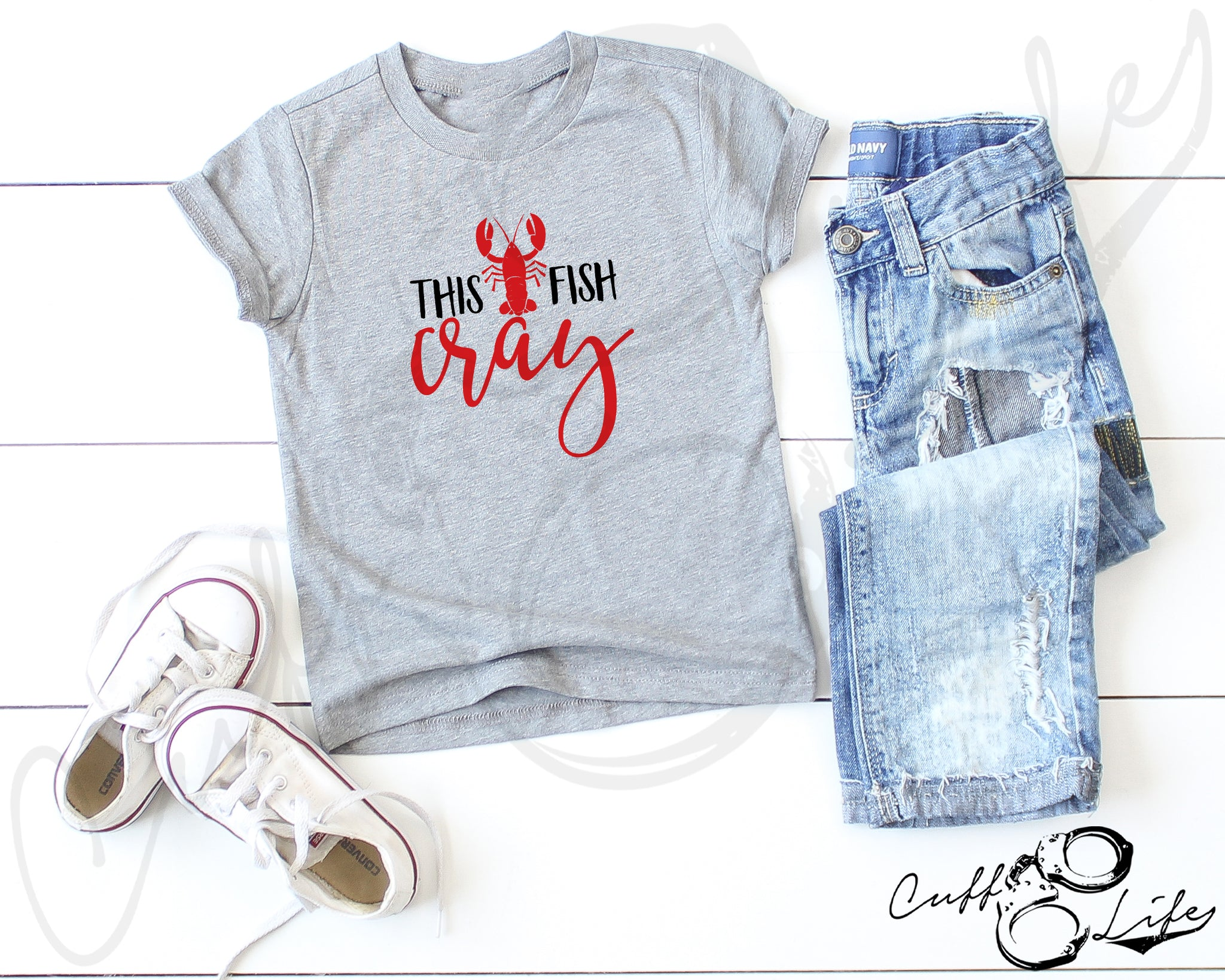 This Fish Cray © - Toddler/Youth T-Shirt