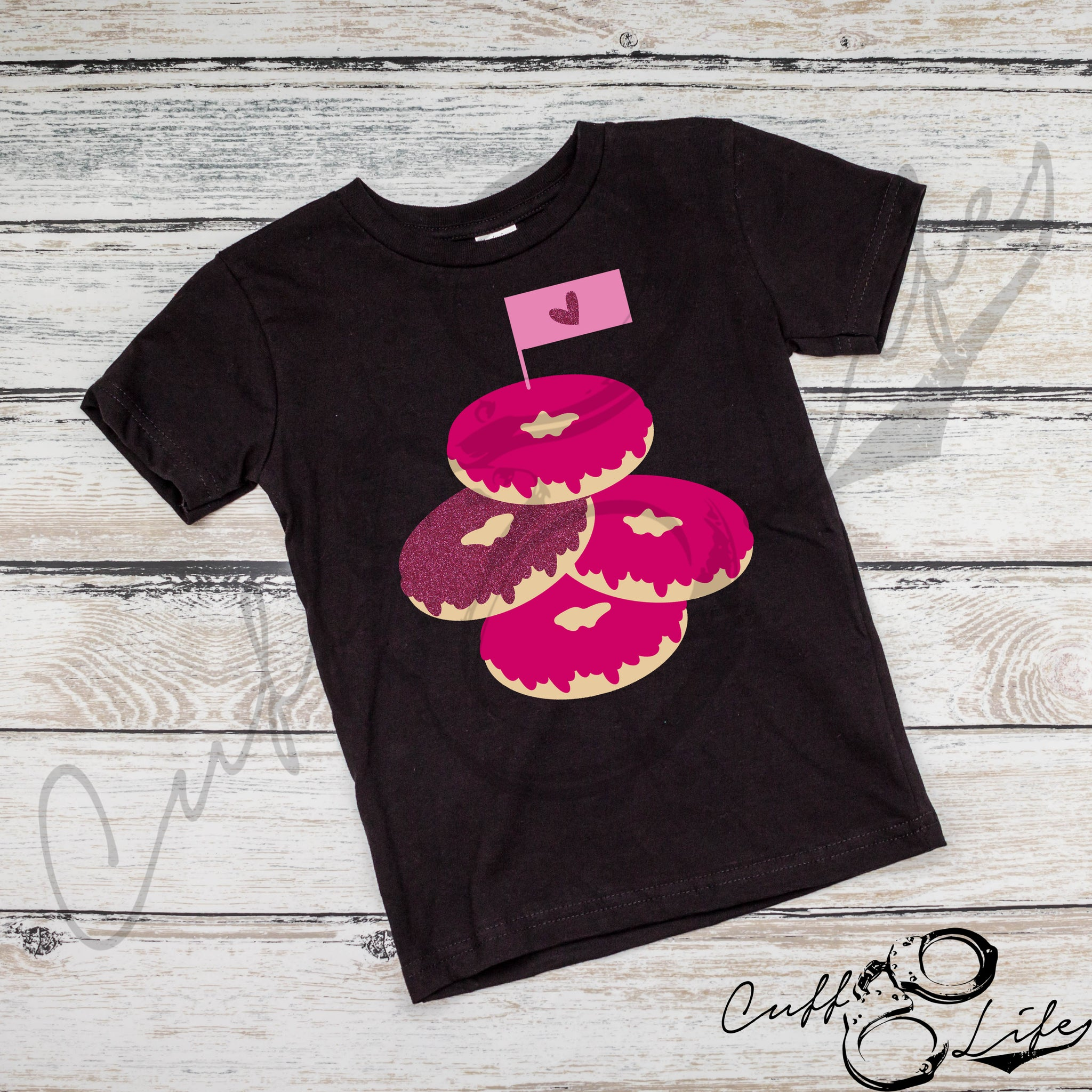 Valentine Donuts - Toddler/Youth T-Shirt