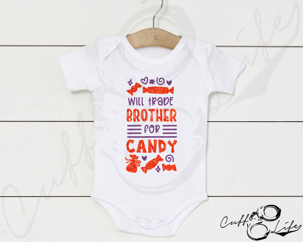 Will Trade Brother for Candy - Infant Bodysuit