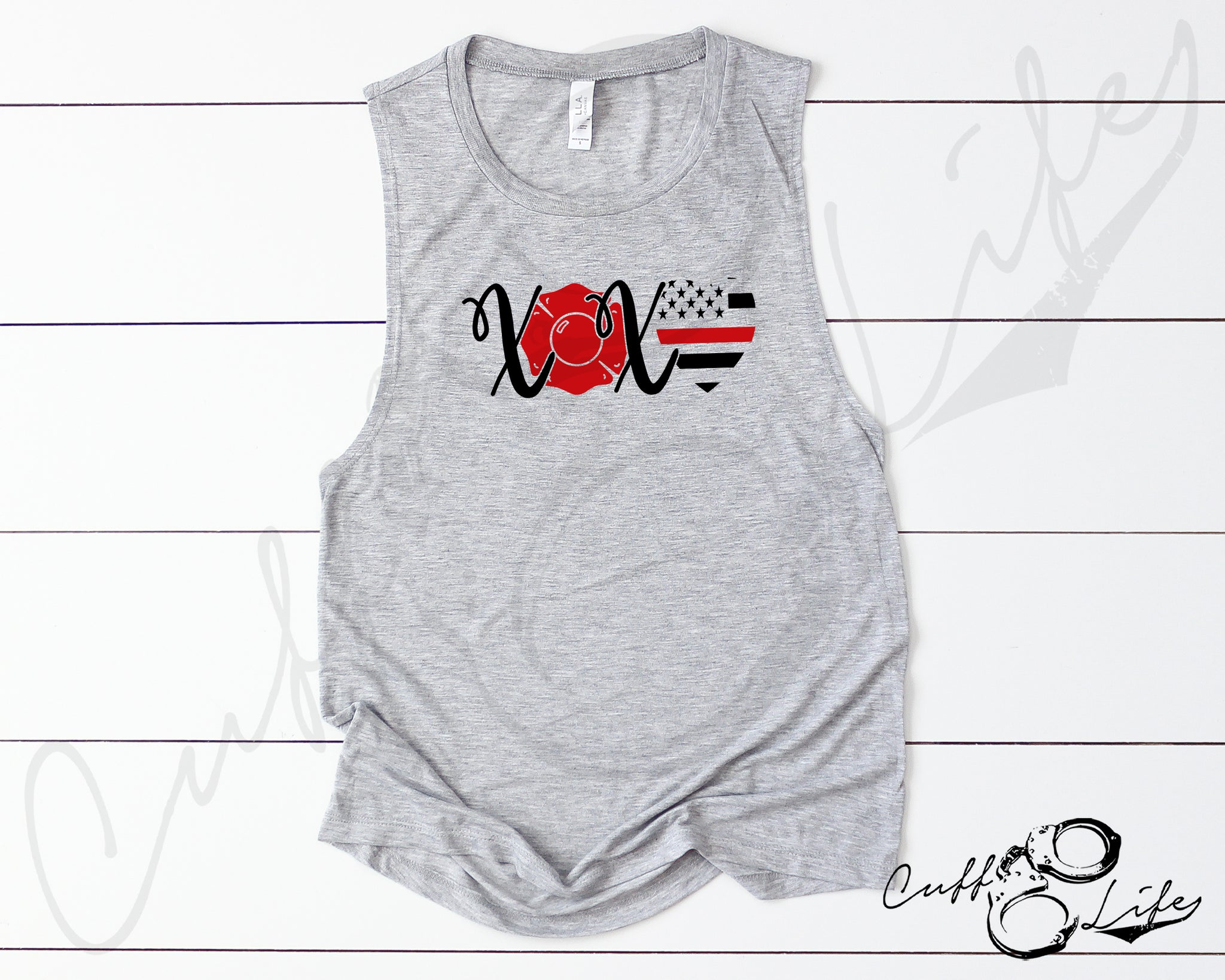 XOXO Fire - Muscle Tank