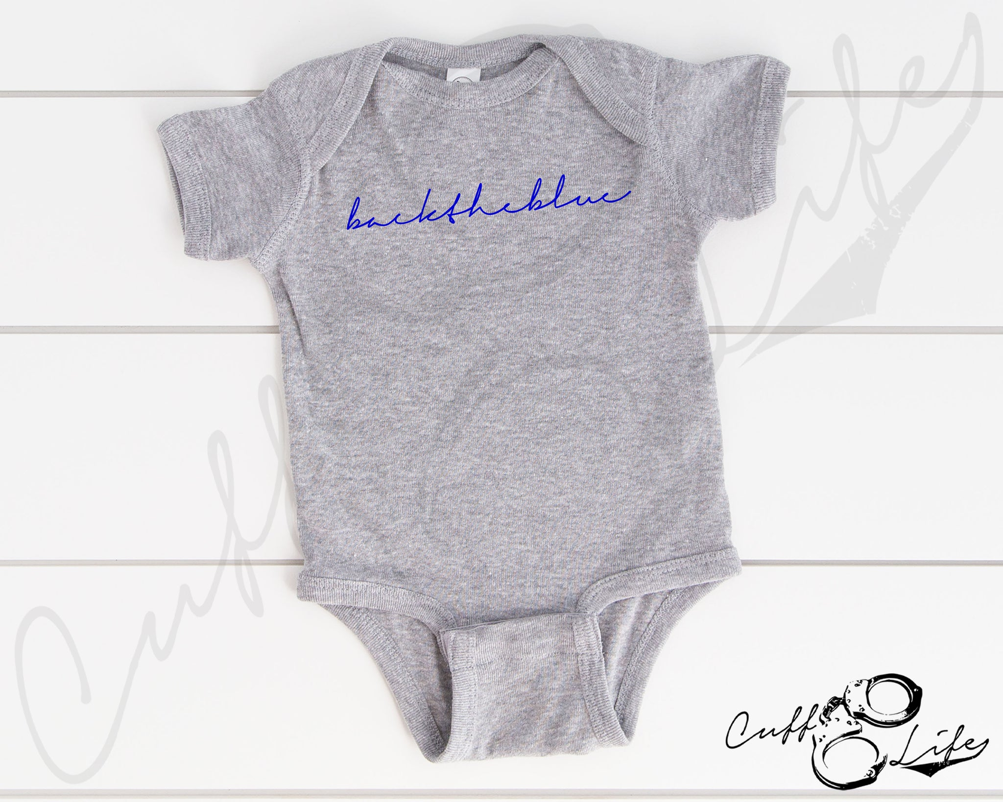 backtheblue © - Infant Bodysuit