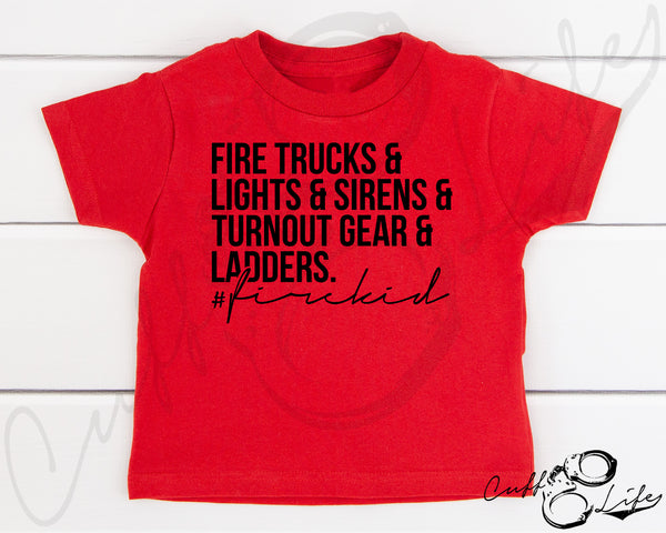 Fire Kid - Toddler/Youth T-Shirt