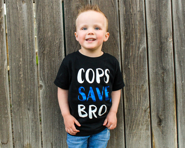 Cops Save, Bro - Toddler/Youth T-Shirt