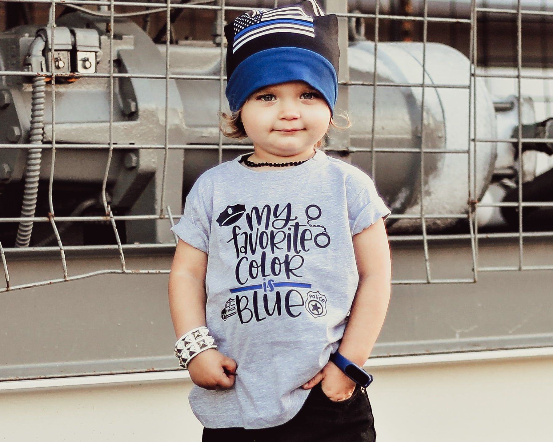My Favorite Color is Blue © - Toddler/Youth T-Shirt