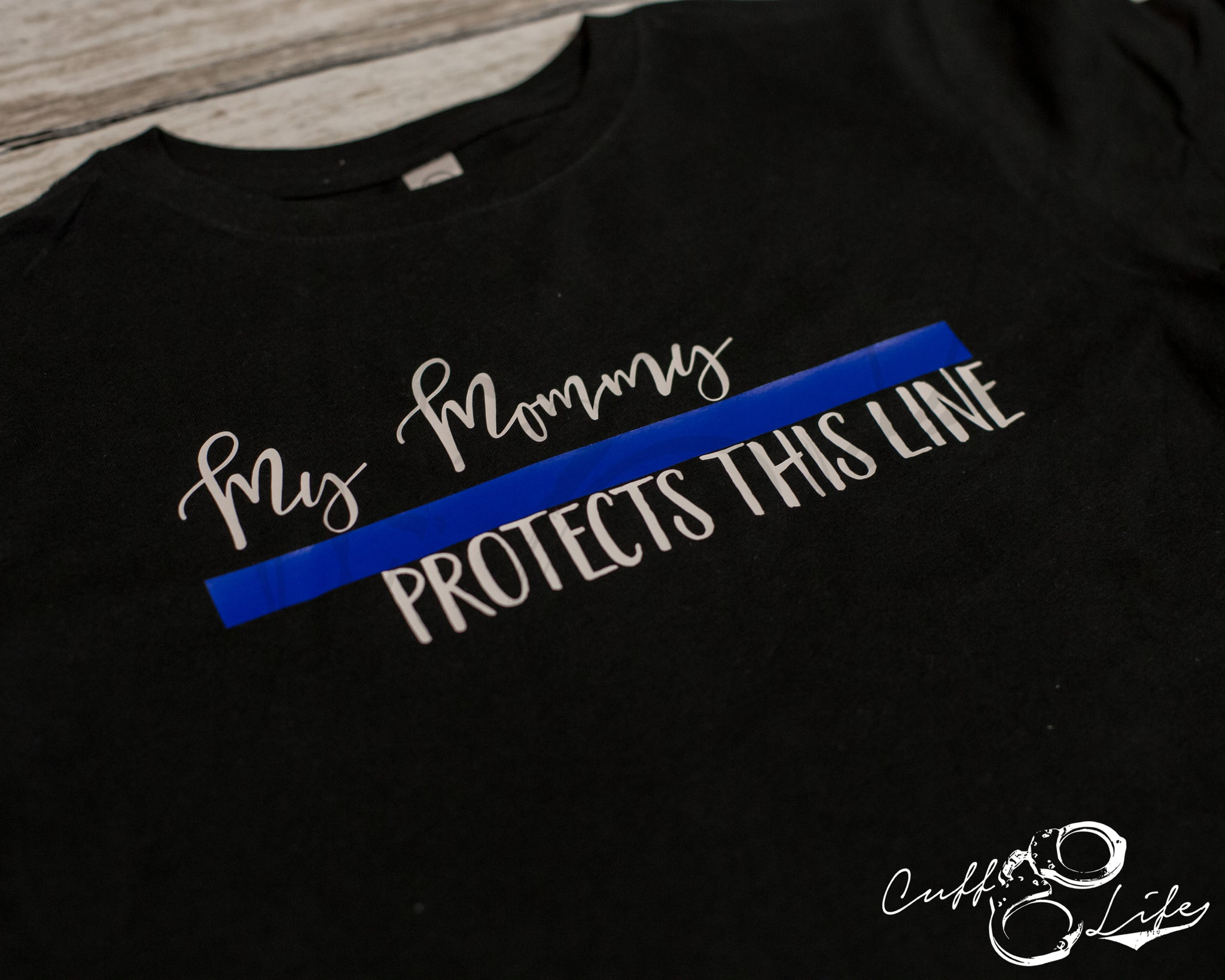 My Mommy Protects This Line - Toddler/Youth T-Shirt