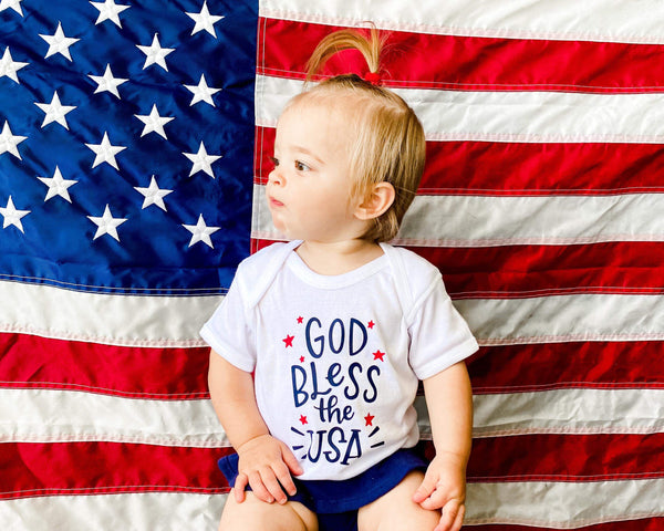 God Bless the USA - Infant Bodysuit
