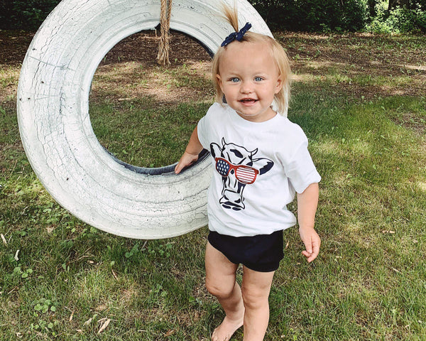American Cow - Toddler/Youth T-Shirt