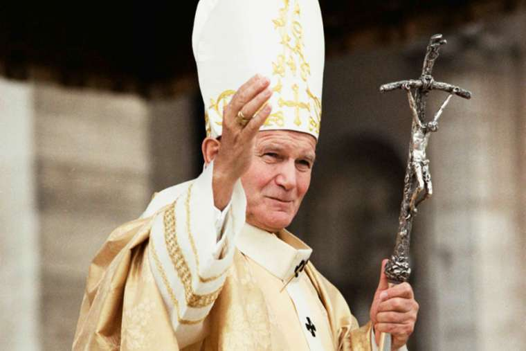 Happy 100th birthday St. John Paul II!