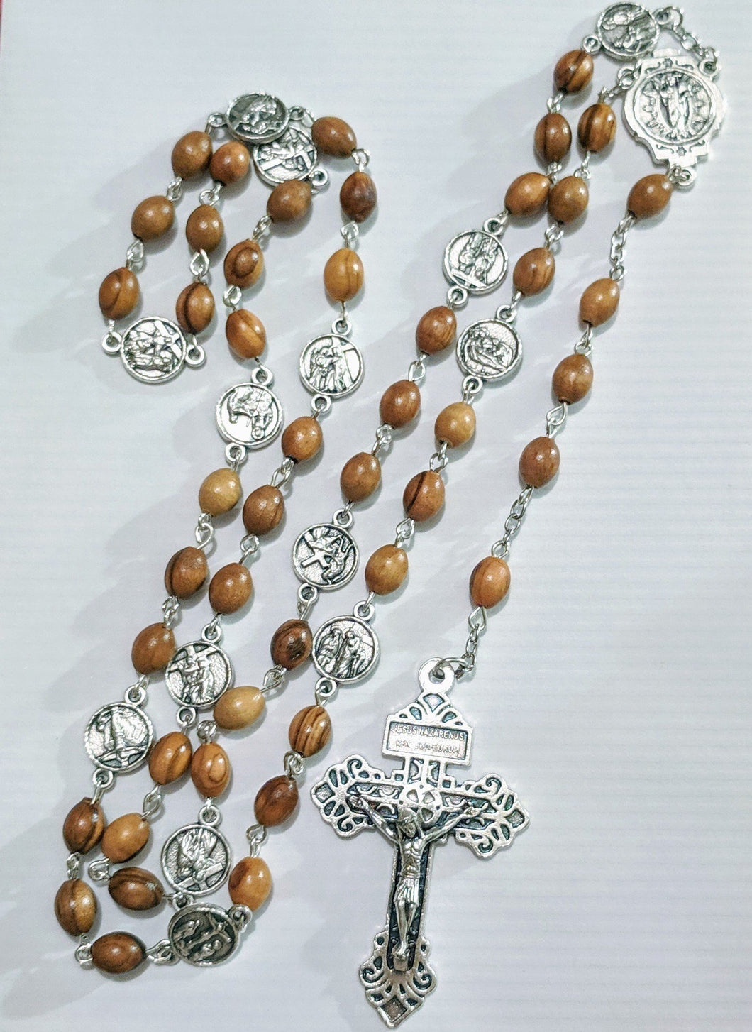 Handmade Stations of the Cross Chaplet