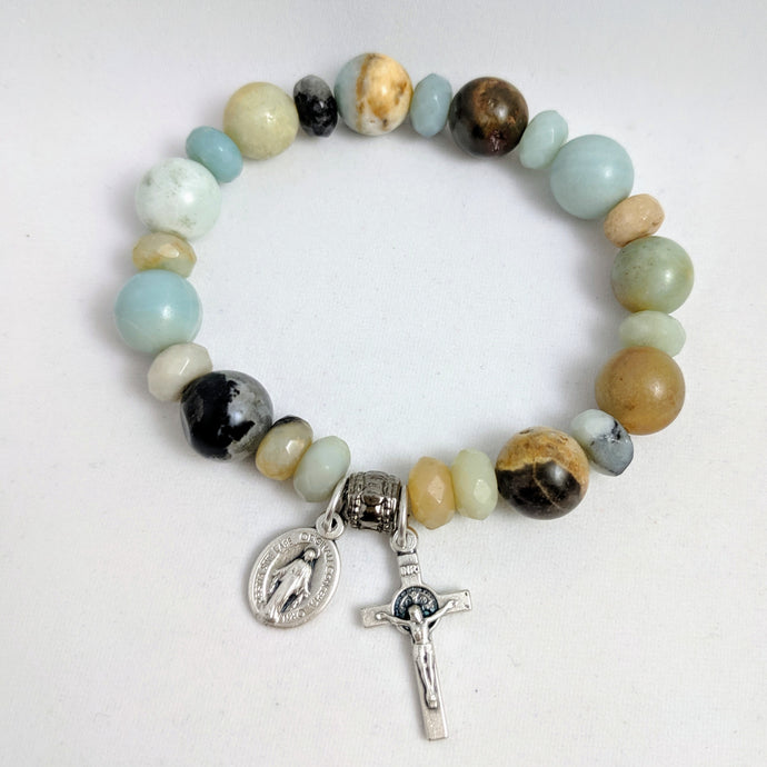 Tranquility Rosary Bracelet