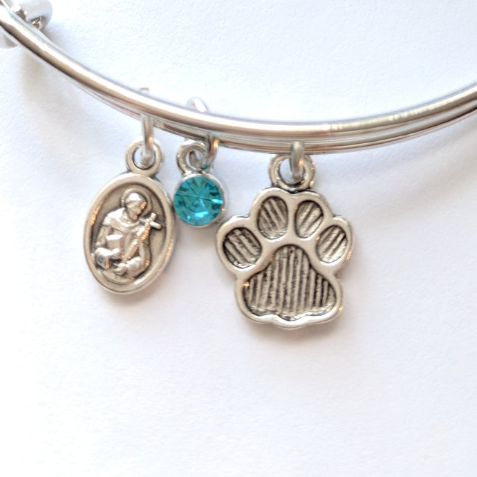 Franciscan Pet Lover Bangle