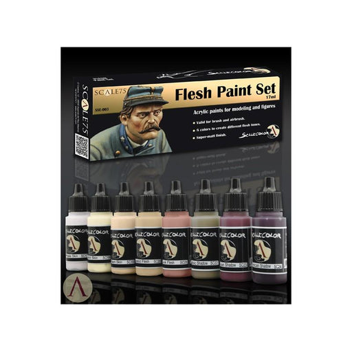 ScaleColor Flesh Paint Set