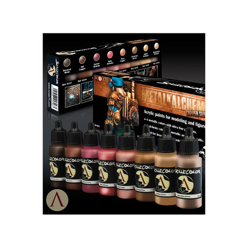 ScaleColor Metal 'n Alchemy Copper Set