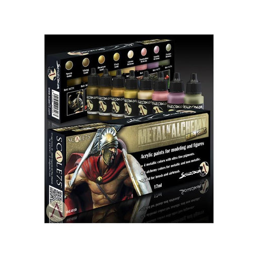 ScaleColor Metal 'n Alchemy Gold Set