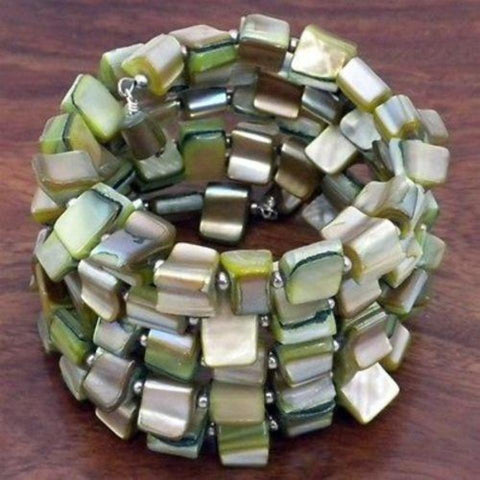 Fair Trade Mother of Pearl Bracelet
