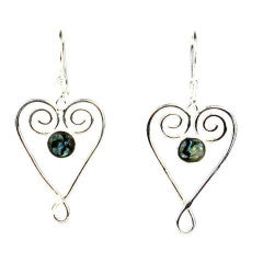 Heart Fair Trade earrings