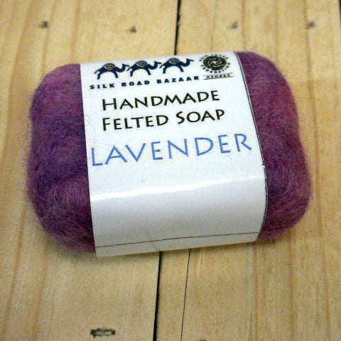 Fair Trade lavender soap