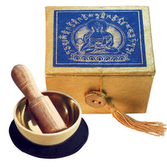 Mini Meditation Bowl and Box Gift