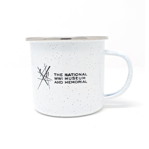 Tin Camp Mug - White