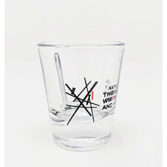 Logo Memorial Shot Glass