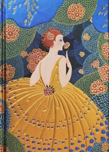 Erté Winter Flowers Journal