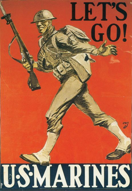 Let's Go! U.S. Marines Poster 182