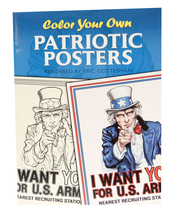 Color Your Own Patriotic Posters